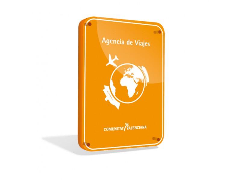 placa-agencia-de-viajes-comunidad-valenciana
